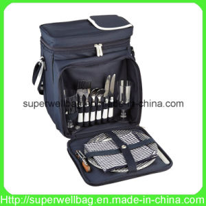 Insulated Picnic Basket Bags Cooler Bags for 2 Person