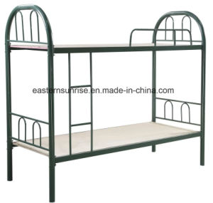 China Manufacturer Supply Modern Simple Cheap Metal Bunk Bed pictures & photos