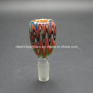 Wholesale Heady Colored Glass Accessories Glass Bowl 14.5mm/18.8mm pictures & photos