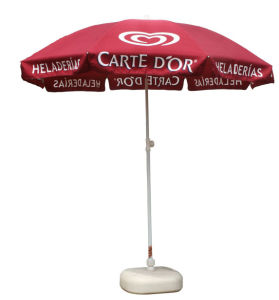 Arc 40′′ High Quality Beach Umbrella with Zinc Alloy Tilt (BR-BU-110) pictures & photos