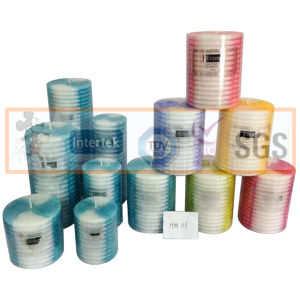 Pillar Art Candles for Birthday Party pictures & photos