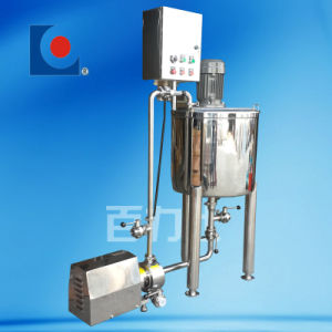 Stainless Steel Sanitary Electric Heating Mixing Tank pictures & photos