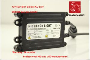 24 Months Warranty 12V 55W Slim Ballast, Fast Bright Ballast for Cars Trucks pictures & photos