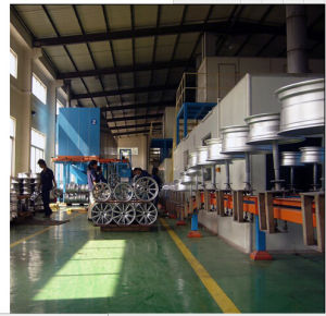 Autoamtic Industrial Powder Coating Line pictures & photos