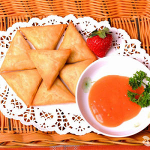 Triangle Frozen Vegetable 12.5g/Piece Samosas with HACCP Certification pictures & photos