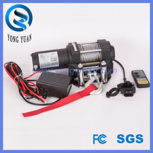 DC 12 V Electrical Winches, 4000lbs Wireless Remote ATV Electric Winch Manufacturer (DH4000D-1) pictures & photos
