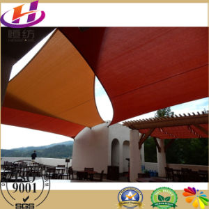 Factory of HDPE Sail Shade/ Shade Awning in Outside