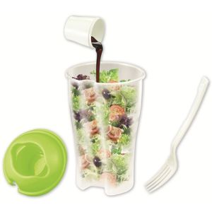 Hot Selling Food Grade PP Salad Cup / Keep Fresh Salad Shaker pictures & photos