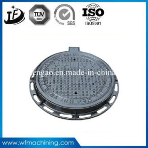 Road Sanitary Ductile/Gray Iron Casting Iron Mould-Tectorial Sand Casting Manhole Covers pictures & photos