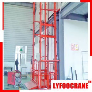 Hydraulic Power Goods Elevator Lifting Height 24m pictures & photos
