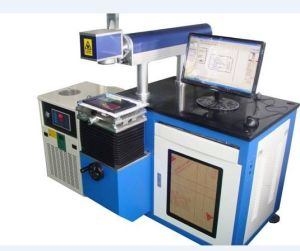 Semiconductor Metal Laser Marking Machine (YH-BDT50) pictures & photos