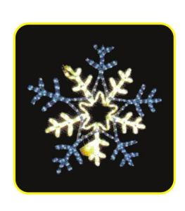 LED Snowflake Motif Light pictures & photos