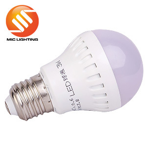 CE Approved 5W Plastic LED Light Bulb