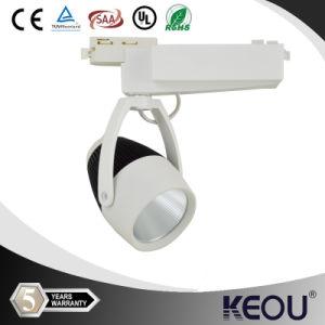12W/20W/24W/25W/30W/40W COB LED Track Lights on The Rail pictures & photos