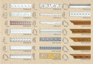PU Decorative Ceiling Medallions Molding pictures & photos