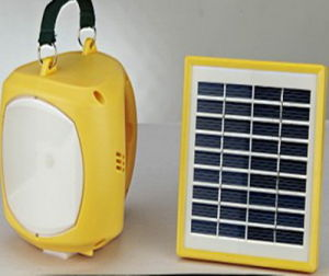 1W Solar LED Light with AC Charger (SP-ST02A)