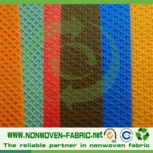 Home Textile Fabric Cross Design Fabric Cambrelle Shoe Lining pictures & photos