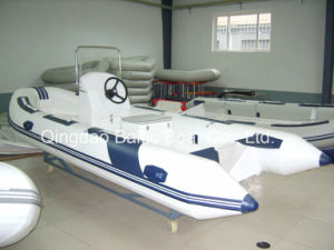 China PVC Pontoon Rib Console Boat 470 for Sale pictures & photos