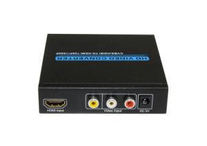AV (RCA) +HDMI to HDMI Converter pictures & photos