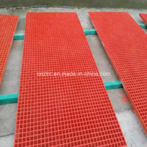 Anti-Slip GRP Grille/FRP Grating/ Fiberglass Mesh pictures & photos