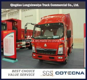 China Sinotruk HOWO 4*2 140HP Van Container Light Cargo Truck pictures & photos