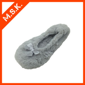 New Fashion Rollable Dancing Shoes Ballet Slippers (D0101, Grey)