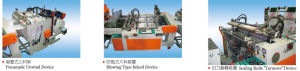 2 Line Full Automatic Pouncher T-Shirt Bag Making Machine pictures & photos