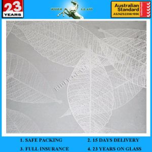 3-6mm Am-39 Decorative Acid Etched Frosted Art Architectural Glass pictures & photos