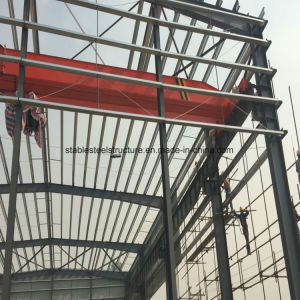 1000 Square Meters Stable Steel Structure Metal Fabrication Workshop with Crane pictures & photos