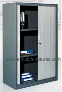 Tambour Door Metal File Cabinet pictures & photos