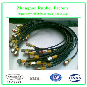 Flexible Steel Wire Reinforced Rubber Automative Hose/Tubing pictures & photos