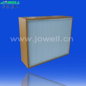 Wooden Frame Separator HEPA Filter pictures & photos