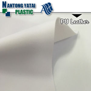 High Peeling Strength PU Synthetic Leather for Shoe pictures & photos