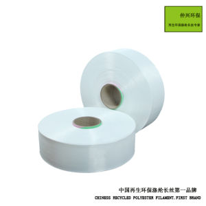 Recycled Environmental Polyester Filament POY pictures & photos