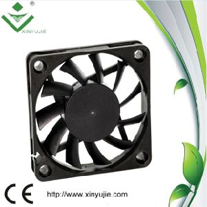 60*60*10mm DC Cooling Fans 2016 Hot Plastic Fan Made in China pictures & photos