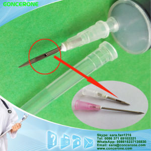 Disposable Drug Dissolving Syringe 20ml with Special Needle pictures & photos