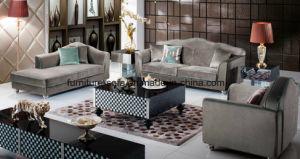 Soft Furniture Wood Frame High Quality Fabric Sofa (K05)