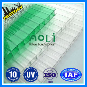 Hollow Polycarbonate Sheet for Bus Station Roofing Material pictures & photos