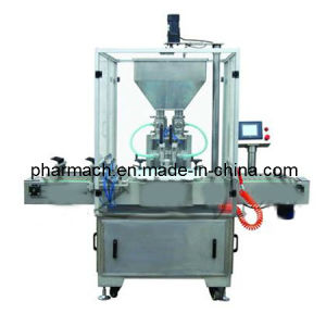 Automatic Tray-Rotating Paste Cream Ointment Filling Machine pictures & photos