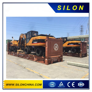 China Mini Wheel Excavtor with Good Price (PP150W-1X) pictures & photos