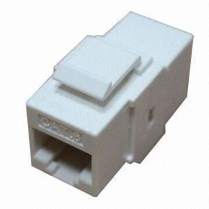 Coupler Style 180 Degree UTP CAT6 Keystone Jack, pictures & photos