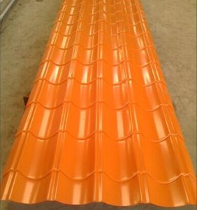 Color Corrugated Roofing Sheet for Building Materials pictures & photos