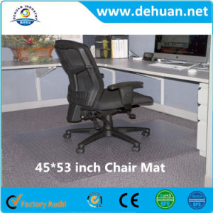 45 by 53-Inch Cleated Chair Mat for Low and Medium Pile Carpet, Clear pictures & photos