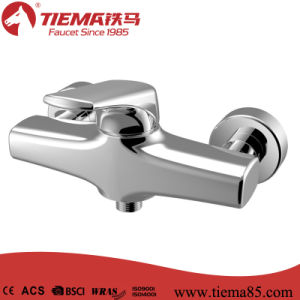 Single Lever Ceramic Cartridge Brass Bathroom Shower Faucet (ZS41502) pictures & photos