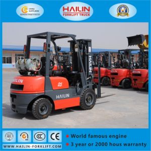 Dual Fuel Forklift Truck, Gasoline&LPG pictures & photos