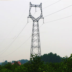 220 kV Angle Steel Power Transmission Tower (Owl-shaped) pictures & photos
