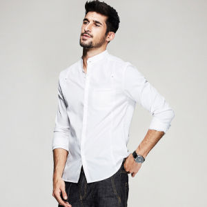 Latest Fashion Designs Latest Shirts Pattern Dress Shirt for Men pictures & photos
