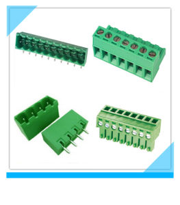 PCB Mount Plug-in Terminal Block Connector pictures & photos