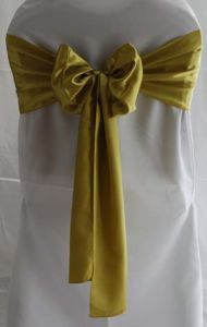 Customized Satin Sashes for Special Events Chair Covers pictures & photos