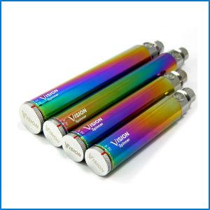 Original Vision Spinner Rainbow Battery 650/900/1100/1300mAh VV Spinner